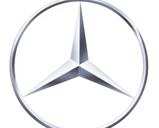 Large Mercedes LOGO