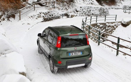 Nuova Fiat Panda 4x4 Sulla Neve  11