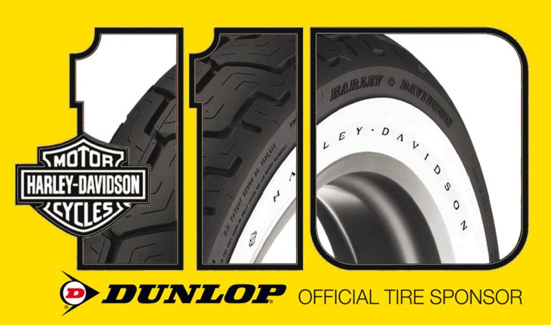 Large Dunlop Harley 110
